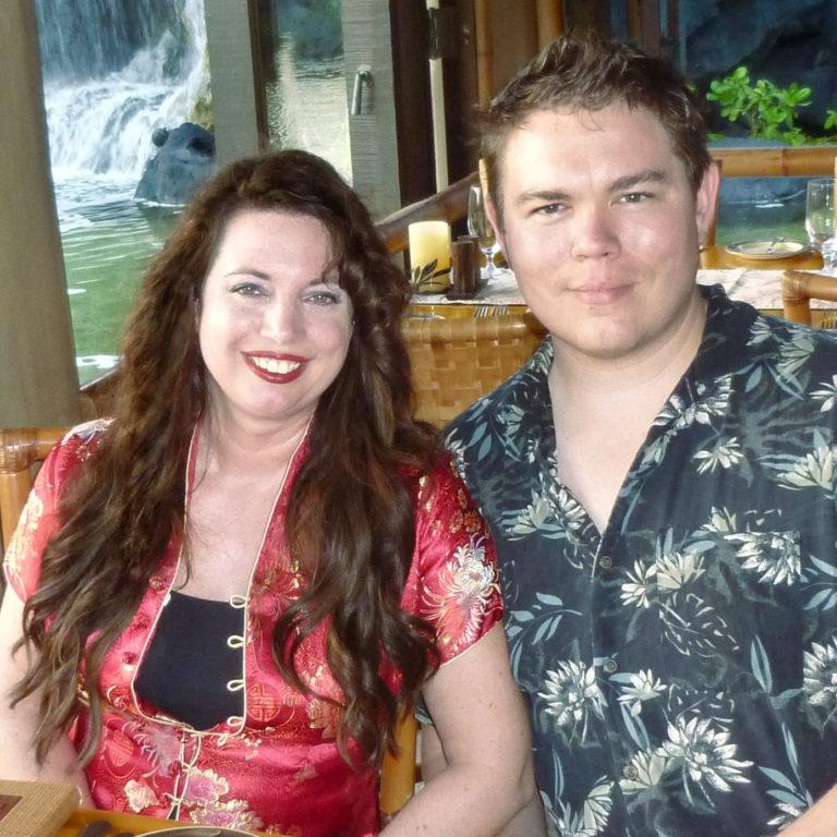 Tiffany Scott Gardner and Forest Gardner, owners of Casa Catalina Design